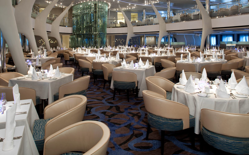 celebrity cruise hall