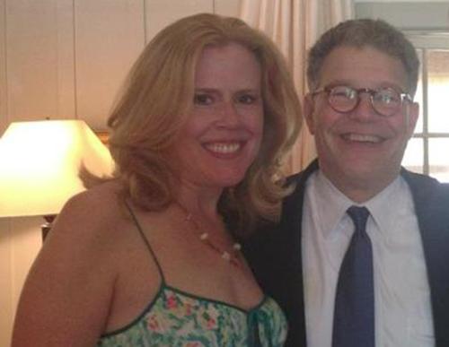 Kristin Oblander with Senator Al Franken
