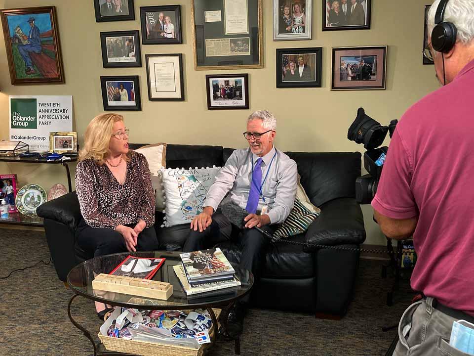 11 Alive: Doug Richards Interviews Kristin Oblander About Georgia 2022 Campaign Cash