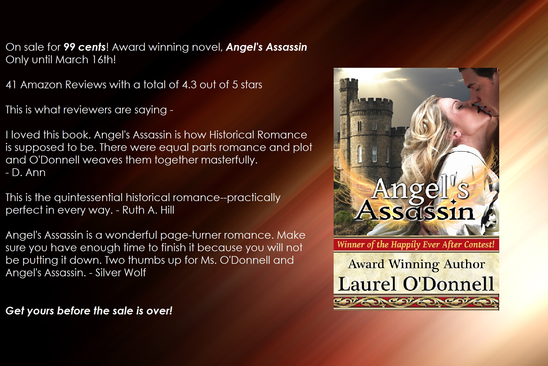 Angel's Assassin sale teaser