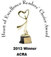 Angel's Assassin wins 2013 Heart of Excellence Award