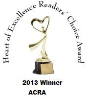 Angel's Assassin wins 2013 Heart of Excellence Award