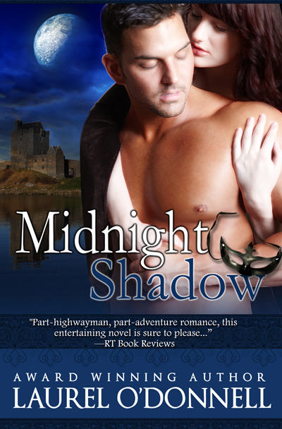 Romance novel cover for Midnight Shadow