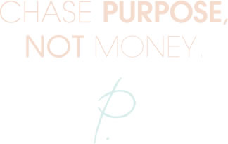 Patrice Washington - Chase Purpose, Not Money.