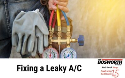 Fixing a Leaky A/C