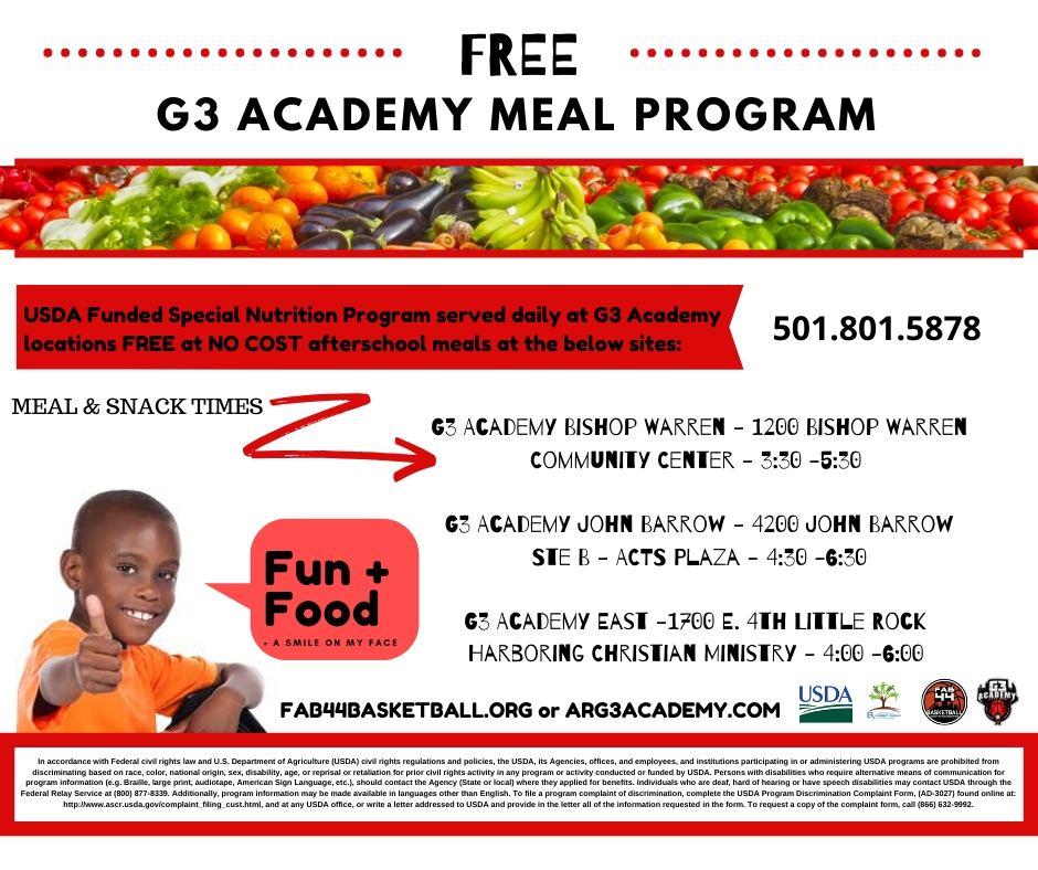 2020 Meal Program