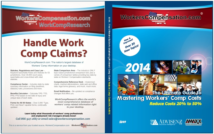 Customized Workers Comp Book Cover for WorkersCompensation.com