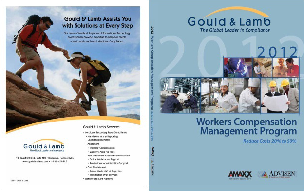 Workers Comp Book Custom Cover for Workers Comp Book Custom Cover for Gould & Lamb