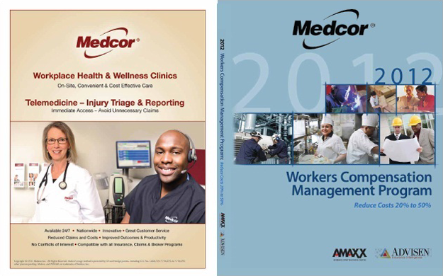Workers Comp Book Custom Cover for Medcor