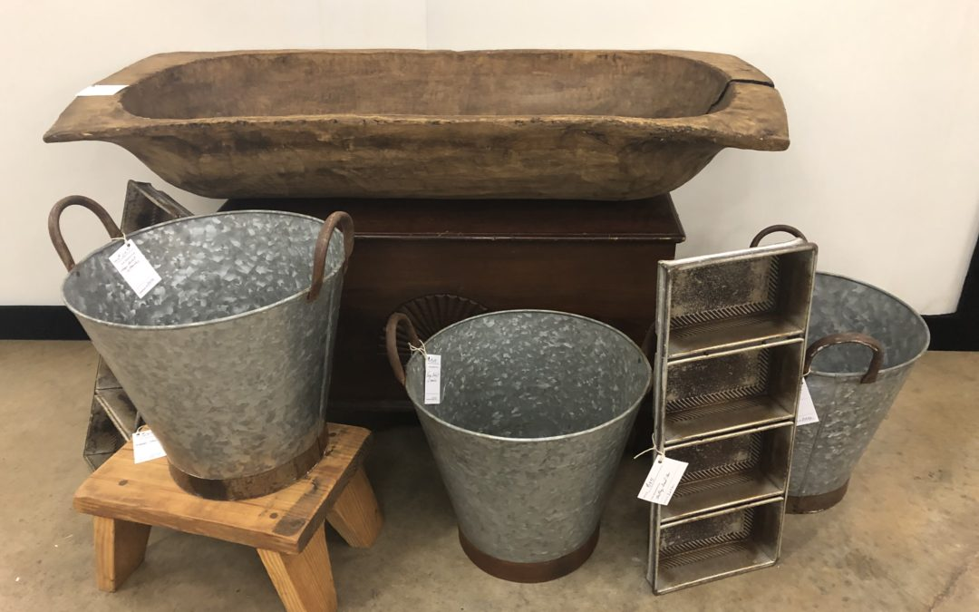 DOUGH BOWLS AND OLIVE BUCKETS, Oh my!
