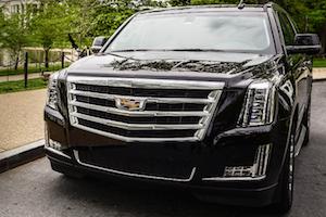 Cadillac Escalade limo