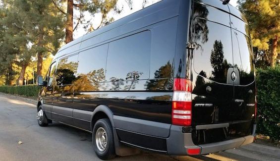 Palm Springs limo service Sprinter