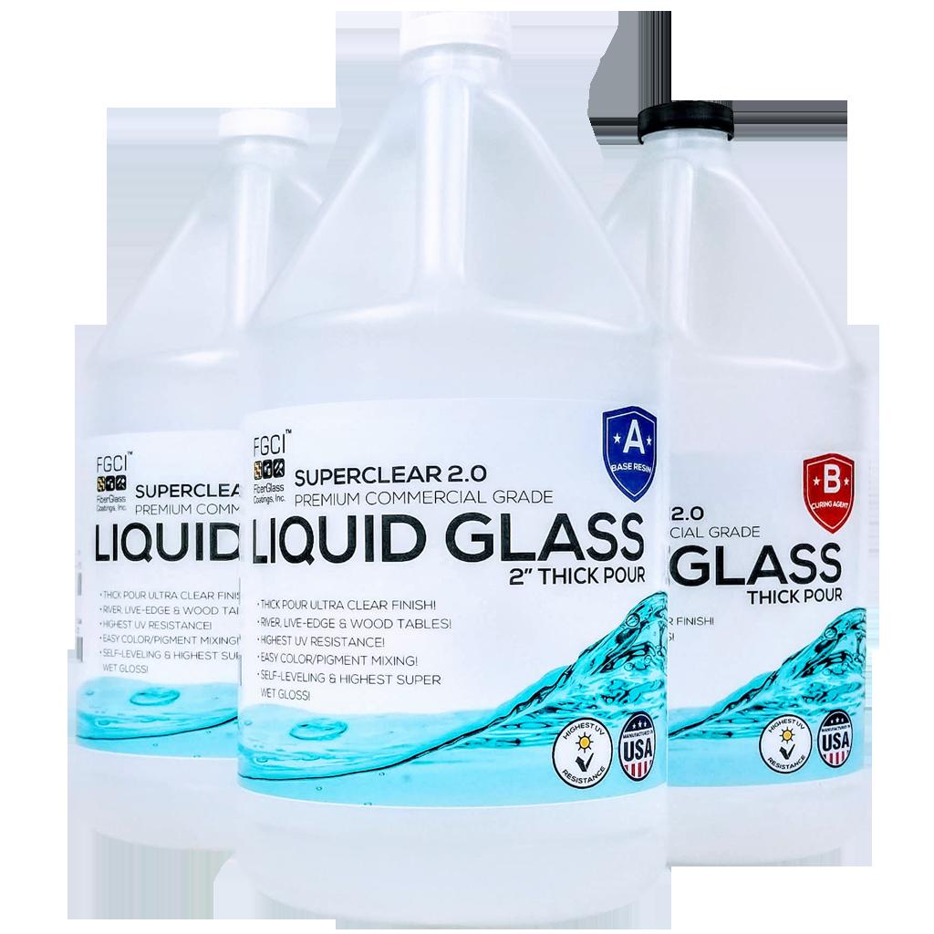 Liquid Glass Casting Deep Pour Epoxy Resin