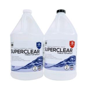 Super Clear Epoxy Resin Table Top Epoxy 2 Gallon Kit