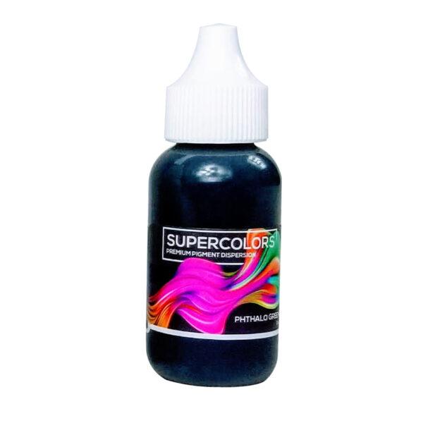 Epoxy Resin Color Pigment Supercolors Liquid Pigment - Phthalo Green