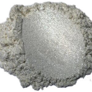 Diamond Silver Pearl Mica Powder Epoxy Resin Color Pigment