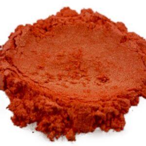 Gold Orange Mica Powder - Black Diamond Epoxy Resin Color Pigment
