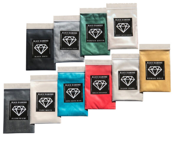 Variety Pack 2 Mica Powder Epoxy Resin Color Pigment