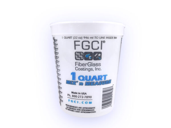 Selling 1Quart Resin Mixing Cup - HDPE