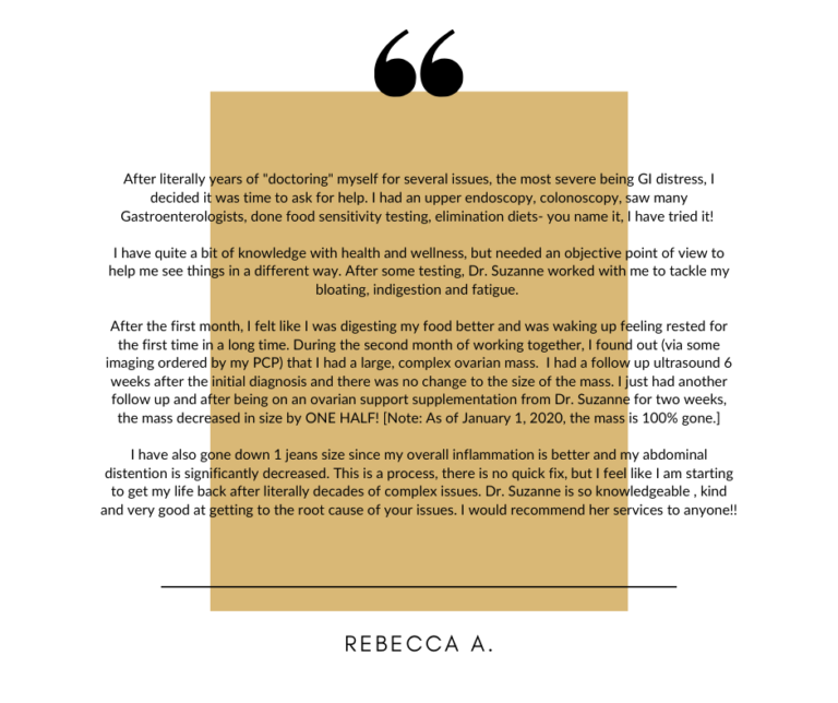 R. Arsena Testimonial