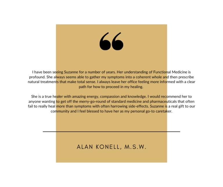 A. Konell Testimonial