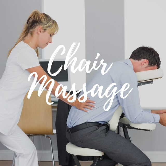 Chair massage in Bellevue
