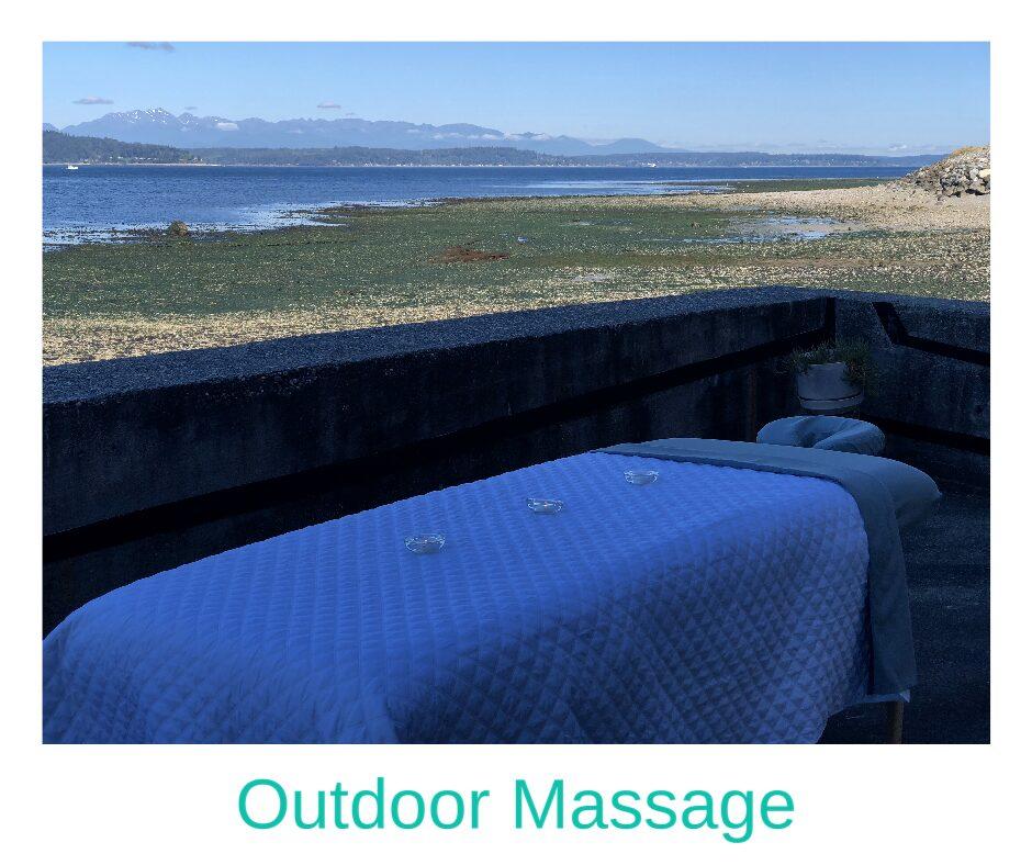Seattle outdoor massage