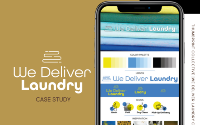 We Delivery Laundry Re-Brand