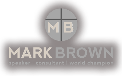 Professional Speaker, Mark Brown, CSP