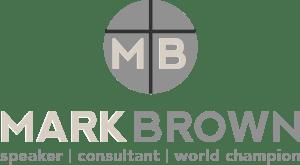 Mark Brown, CSP ~ World Champion of Public Speaking