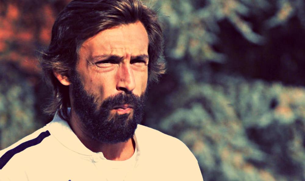 andrea pirlo beard