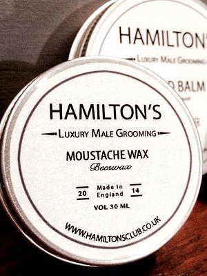 Hamilton's mustache wax