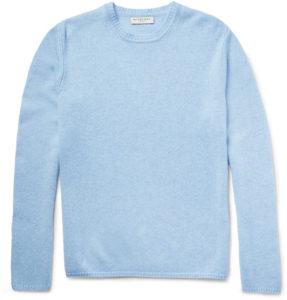 kit harington style 3 London Mélange Cashmere Sweater