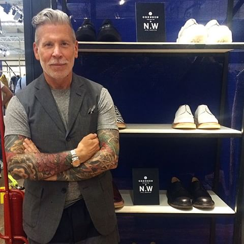 Grenson X Nick Wooster Collaboration