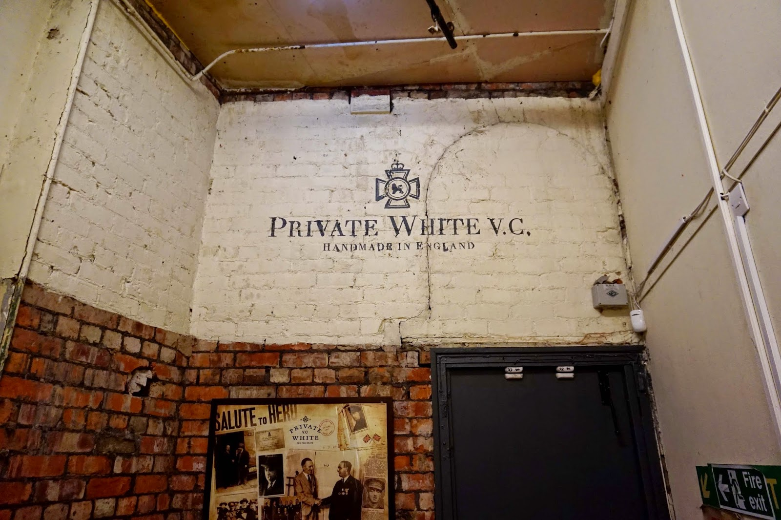 Made in England Private White V.C
