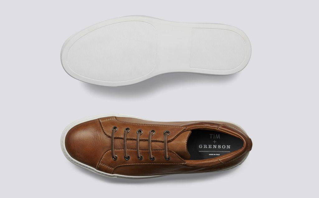 Grenson leather sneaker