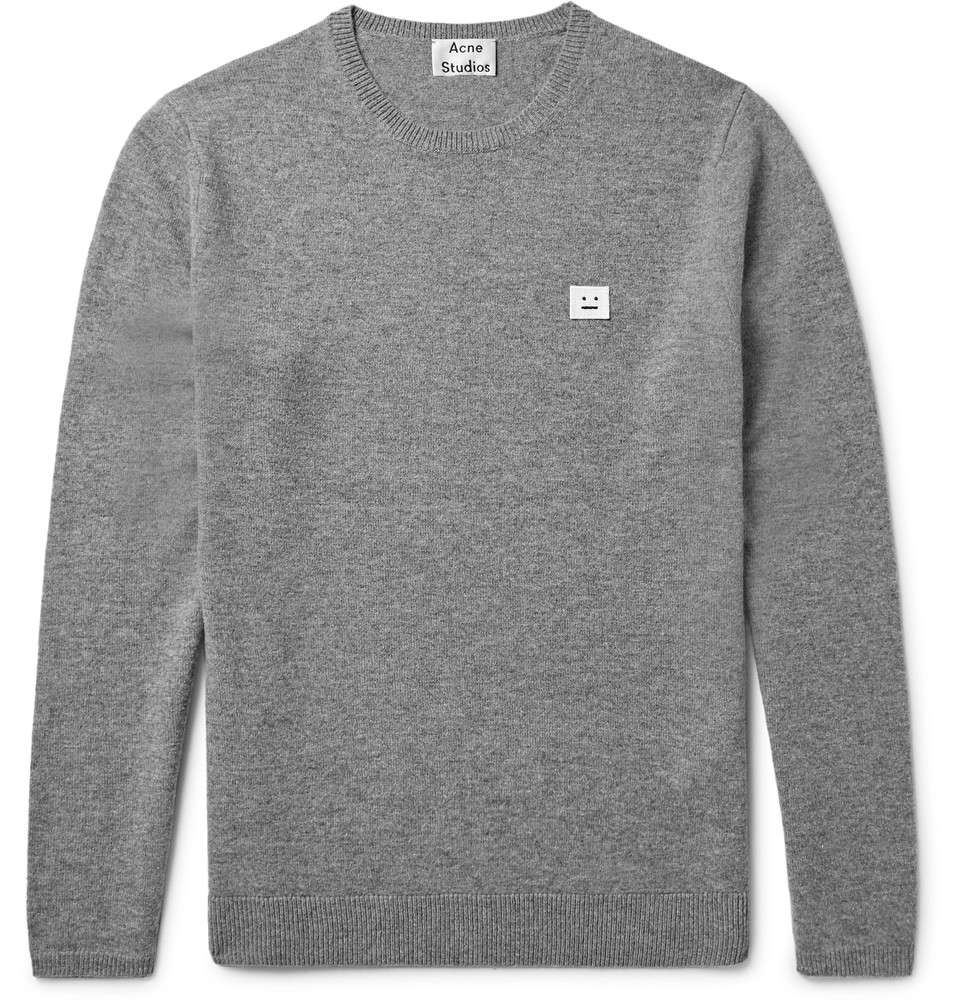 #500: Mr James Samuel ACNE STUDIOS Dasher Mélange Wool Sweater