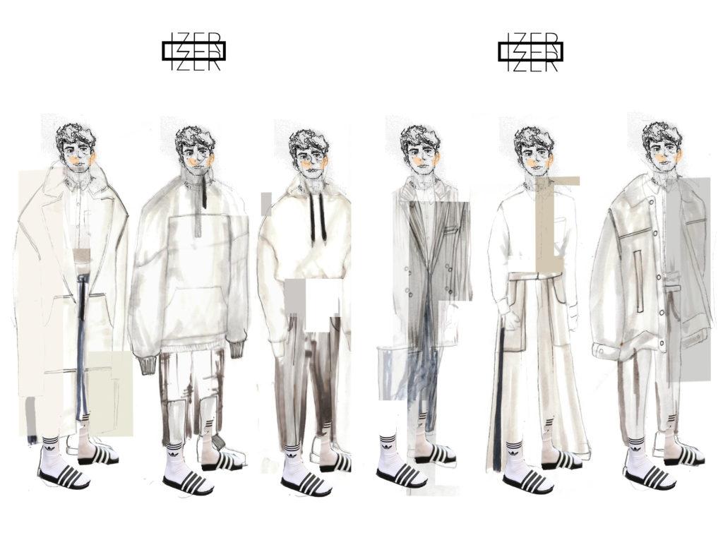 Graduate Fashion Week - Molly Key Illustrations