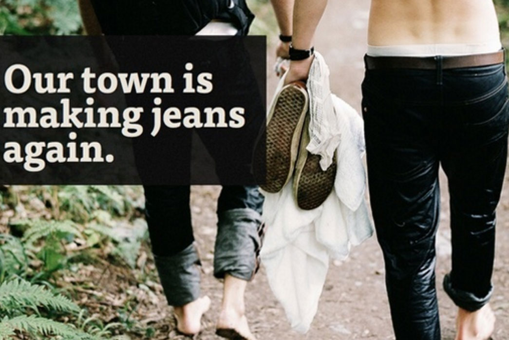 huid denim co jeans advert