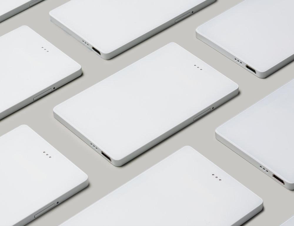 white light phone