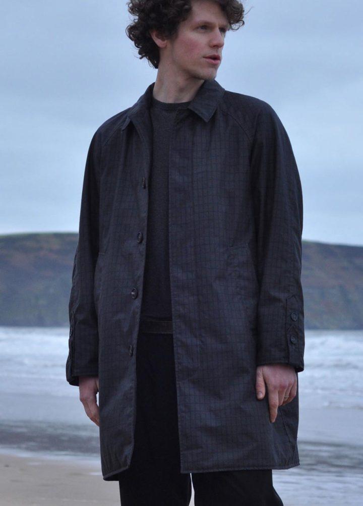 Christmas gift guideLamler mini grid in Cinder trench coat