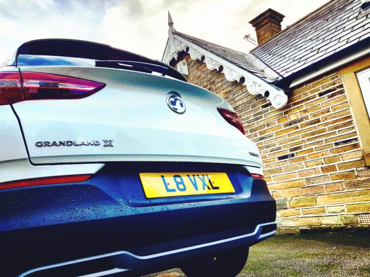 Vauxhall Grandland X Rear