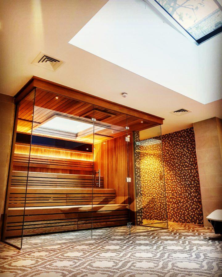 off the cuff ldn 3 st james's square skylit sauna