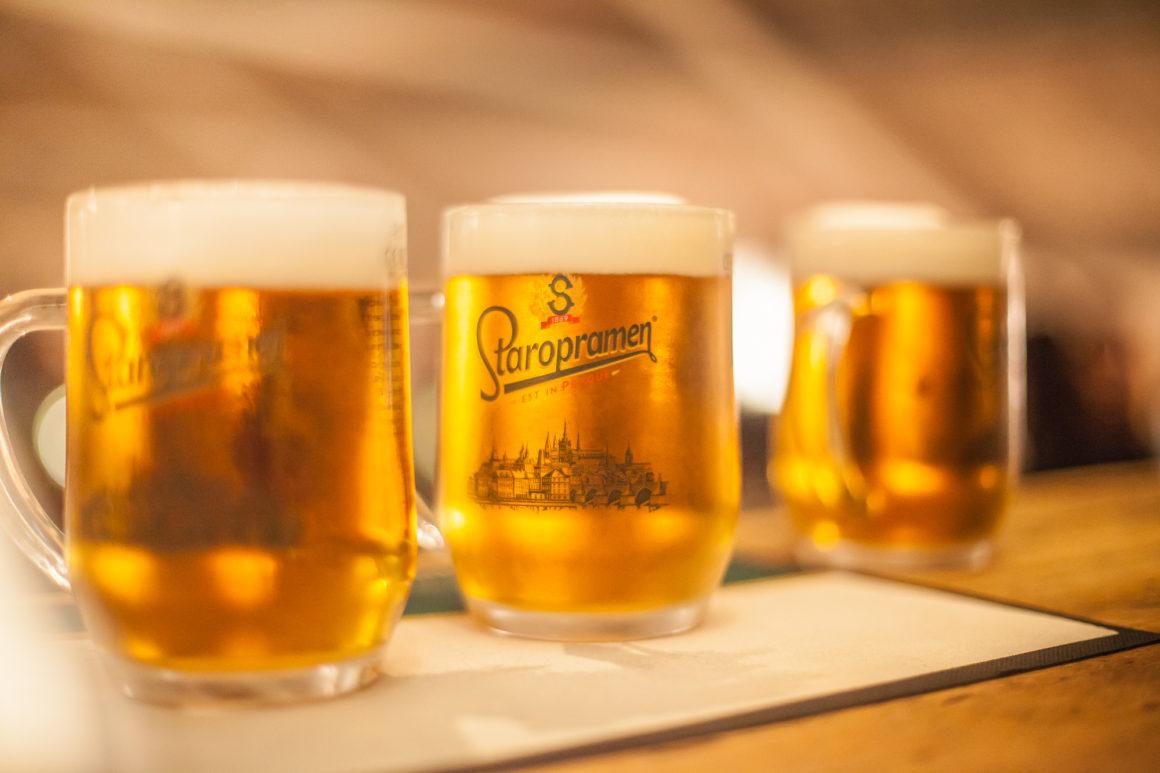 Staropramen beers