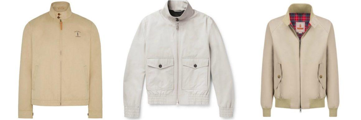 seasonal essentials harrington jacket