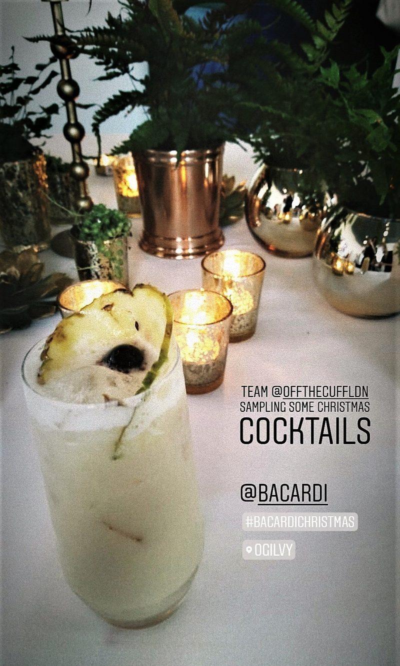 Bacardi Christmas Cocktail