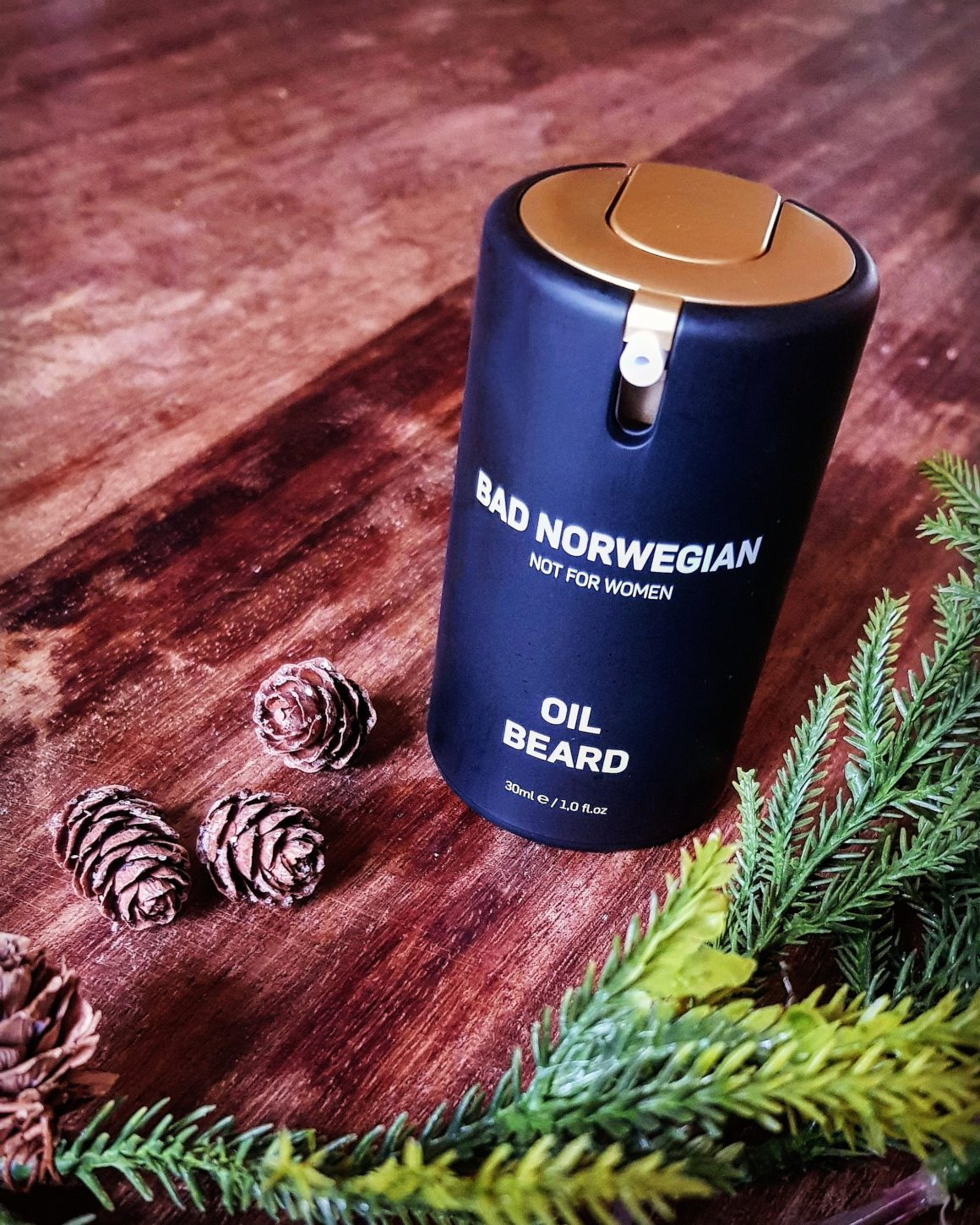 Revamp your regime with BAD NORWEGIAN this advent OIL BEARD
