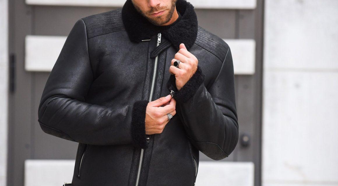 italist Bully Shearling Jacket