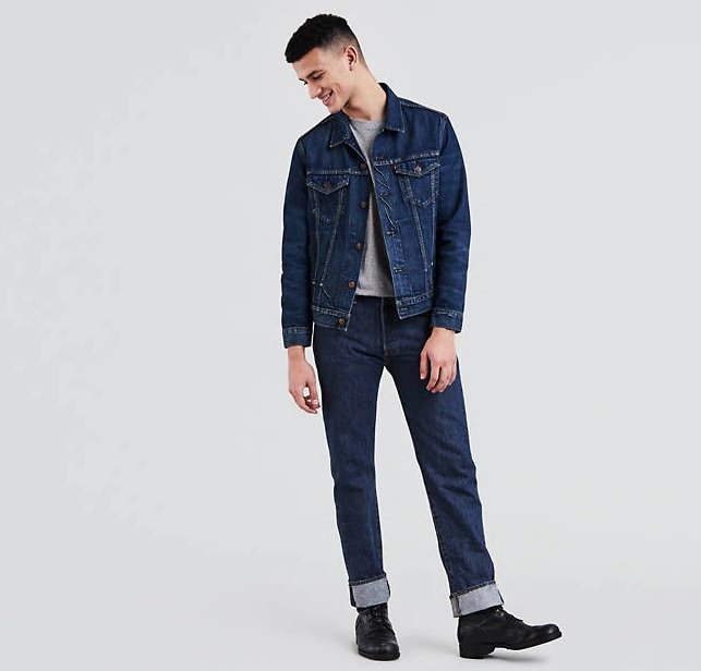 Why every man needs a pair of Levi's® Jeans 501s Straight Fit