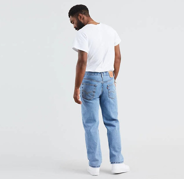 Why every man needs a pair of Levi's® Jeans 550s relaxed fit